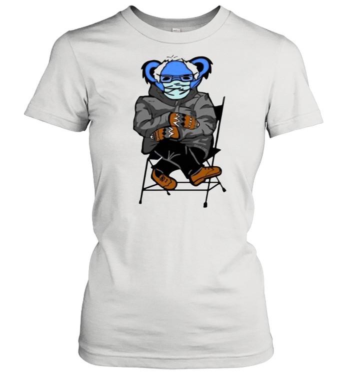 Bernie Sanders Grateful Bear shirt Classic Women's T-shirt
