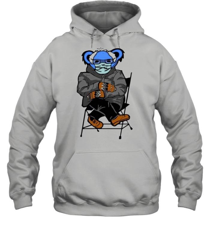 Bernie Sanders Grateful Bear shirt Unisex Hoodie