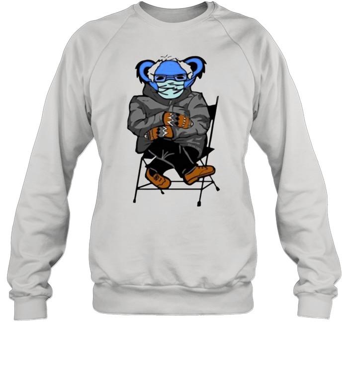 Bernie Sanders Grateful Bear shirt Unisex Sweatshirt