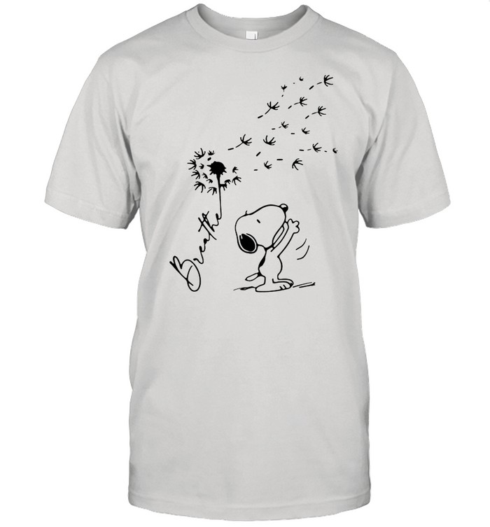 Breathe Snoopy Dandelion shirt Classic Men's T-shirt