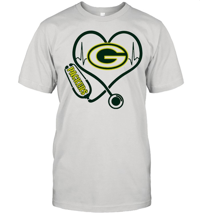 Heartbeat Nurse Green Bay Packers shirt Classic Men's T-shirt