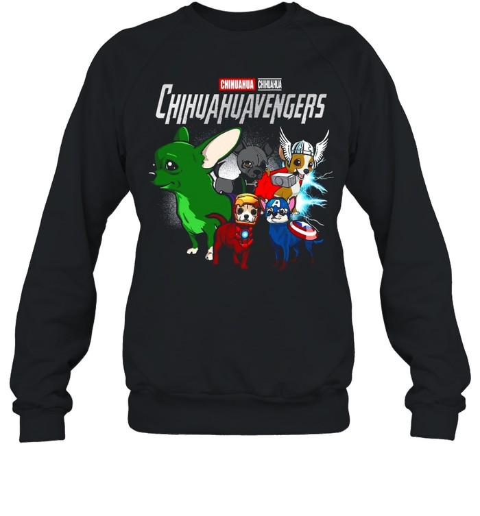 Marvel Avengers Chihuahua Chihuahuavengers shirt Unisex Sweatshirt