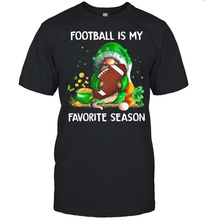 Gnome football is my favorite season St Patricks Day shirt Classic Men's T-shirt