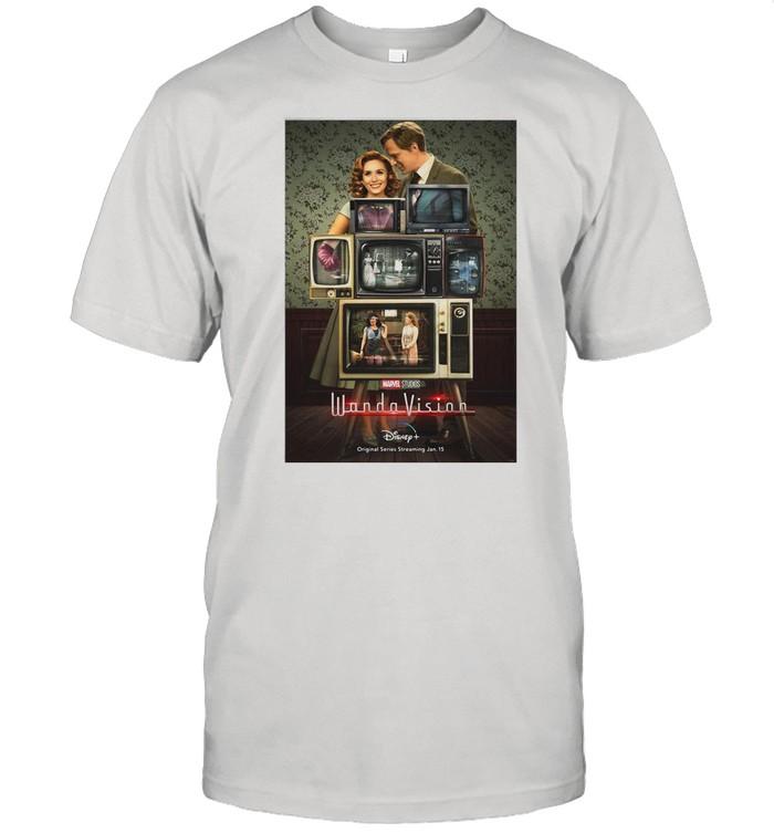 Marvel Wandavision Through The Years shirt Classic Men's T-shirt