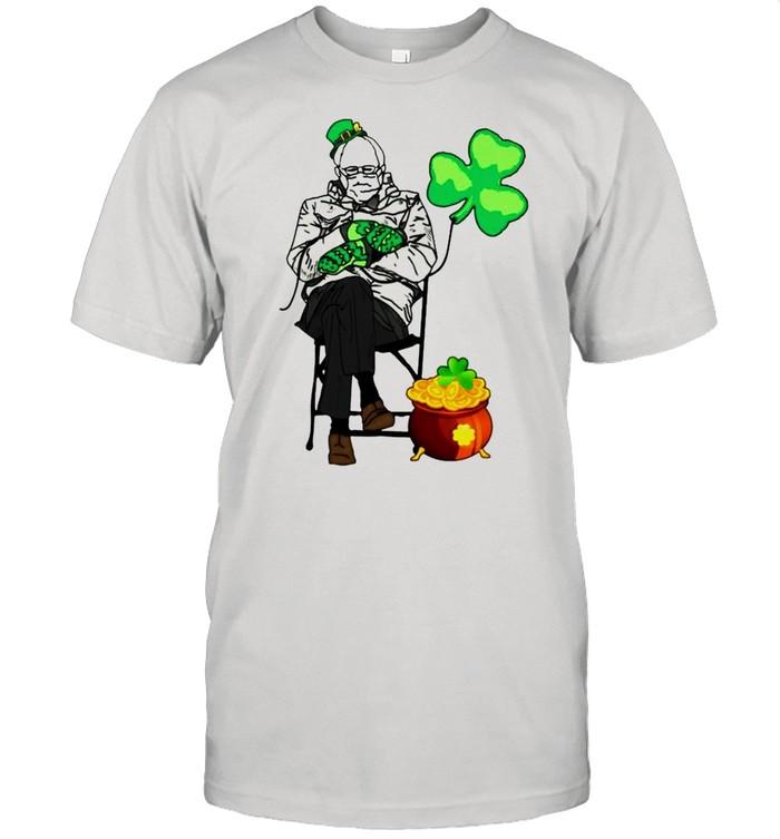 Bernie Sanders Irish StPatricks day shirt Classic Men's T-shirt