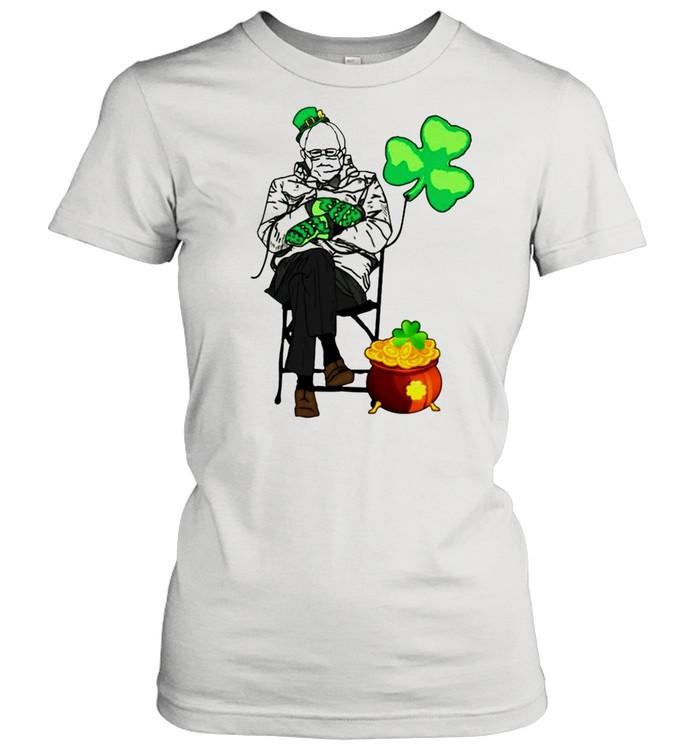 Bernie Sanders Irish StPatricks day shirt Classic Women's T-shirt