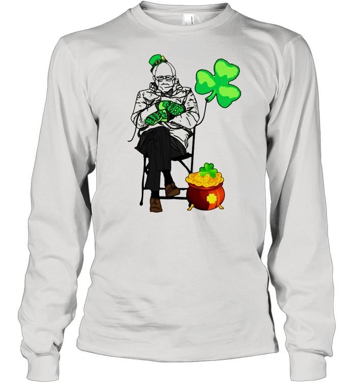 Bernie Sanders Irish StPatricks day shirt Long Sleeved T-shirt