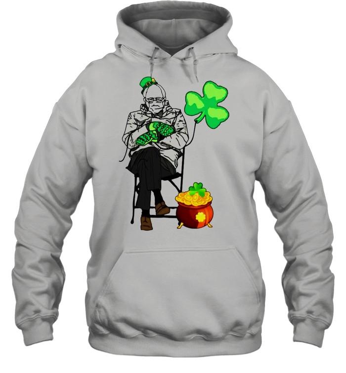 Bernie Sanders Irish StPatricks day shirt Unisex Hoodie