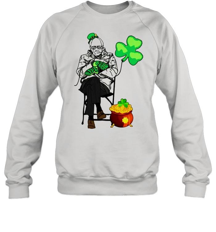 Bernie Sanders Irish StPatricks day shirt Unisex Sweatshirt
