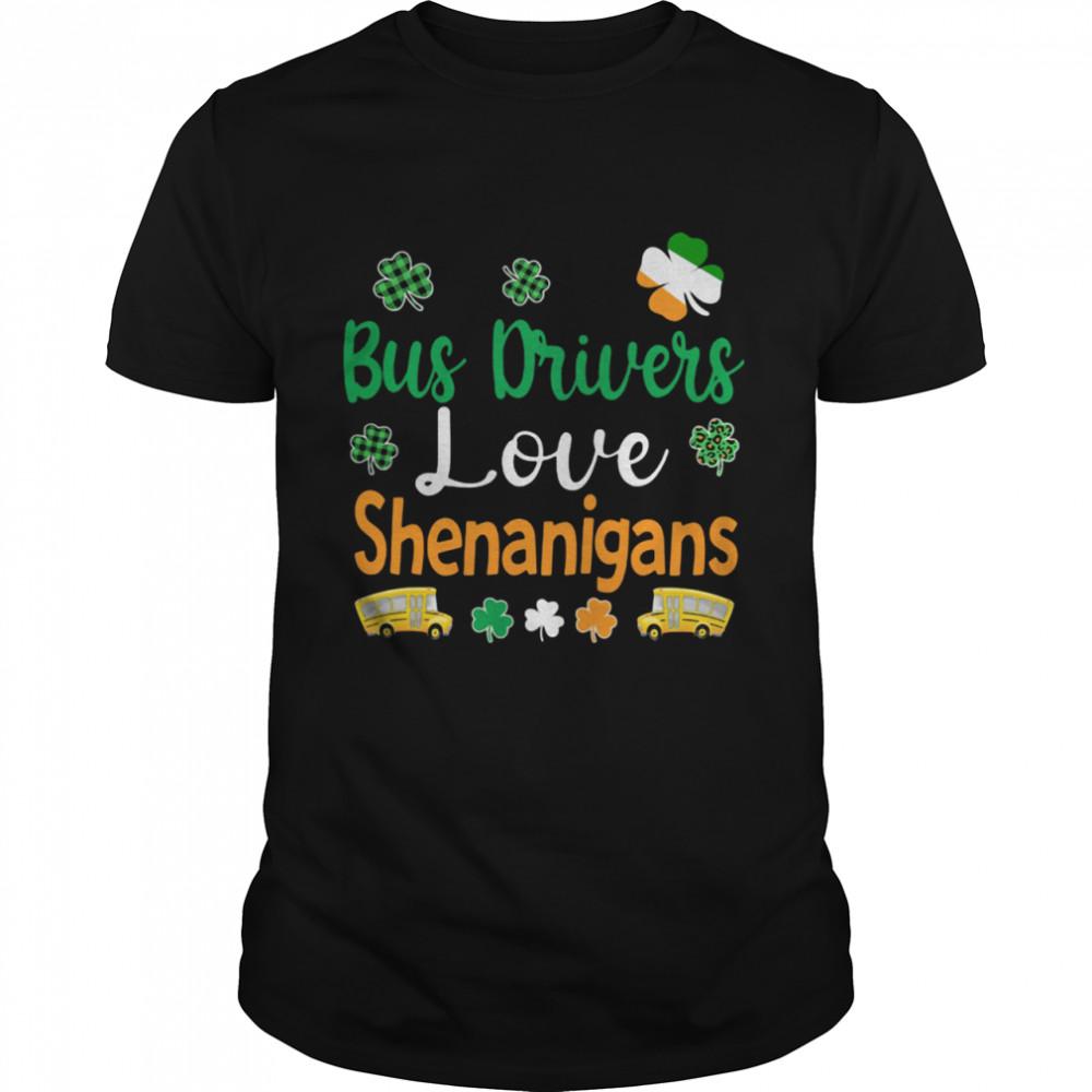 Bus Drivers Love Shenanigans shirt Classic Men's T-shirt