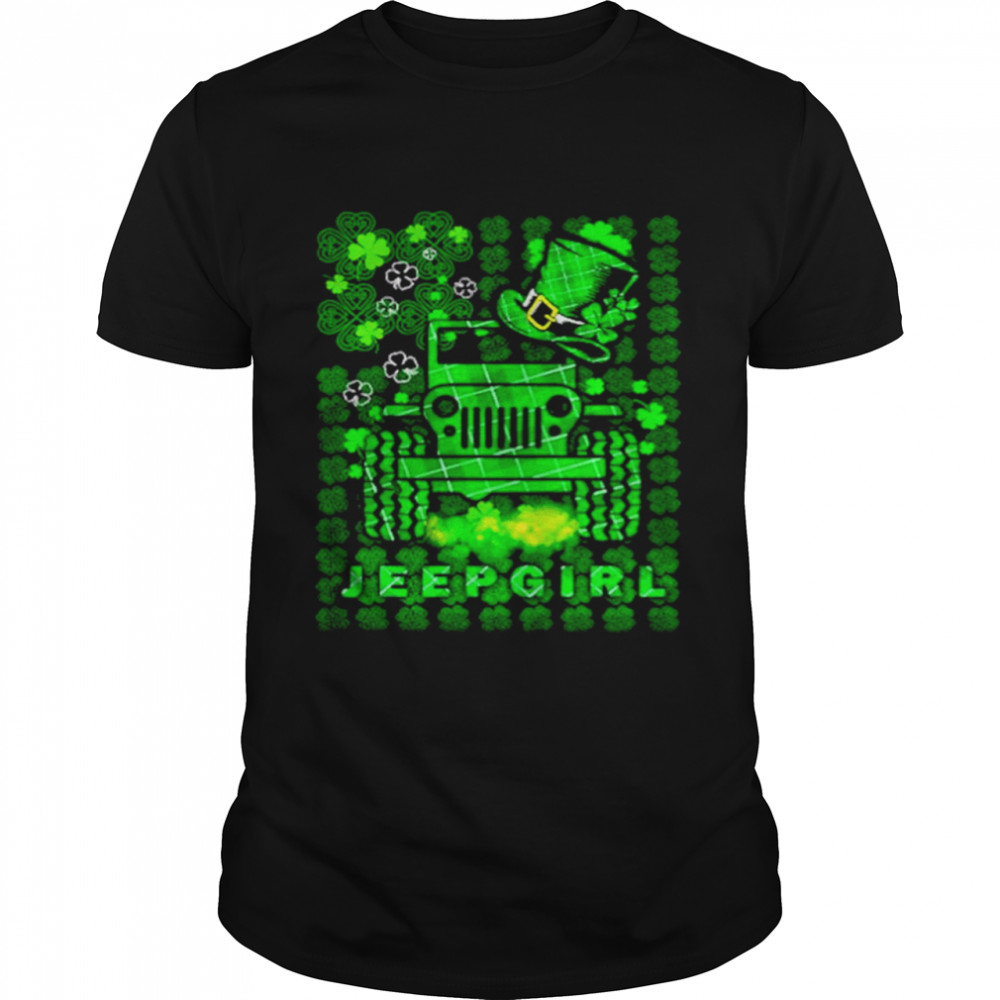 Jeepgirl St Patricks Day shirt Classic Men's T-shirt