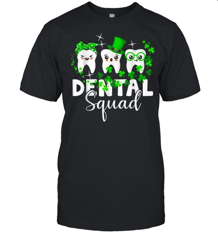 Tooth Leprechaun Hat Dental Squad St Patrick's Day shirt Classic Men's T-shirt