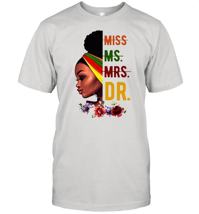 Afro Girl Not Miss Or Mrs T-shirt Classic Men's T-shirt
