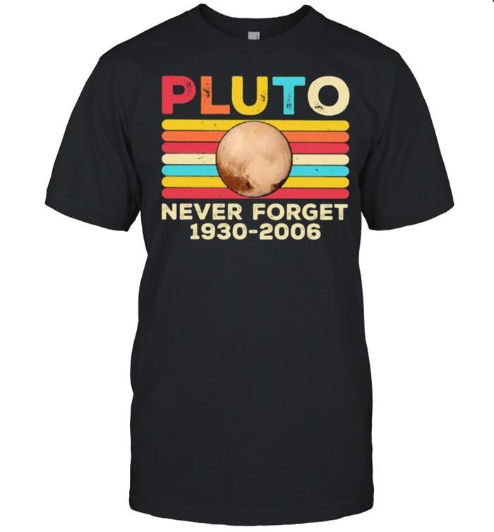 Pluto Never Forget 1930 2006 Vintage  Classic Men's T-shirt