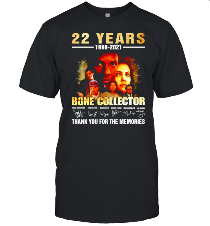 22 years Bone Collector 1999 2021 thank you for the memories shirt Classic Men's T-shirt