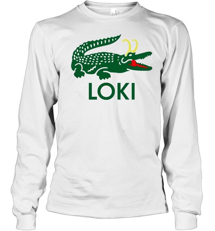 Alligator Loki shirt Long Sleeved T-shirt
