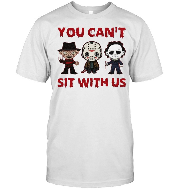 YOU CAN'T SIT WITH US HALLOWEEN SHIRT Classic Men's T-shirt