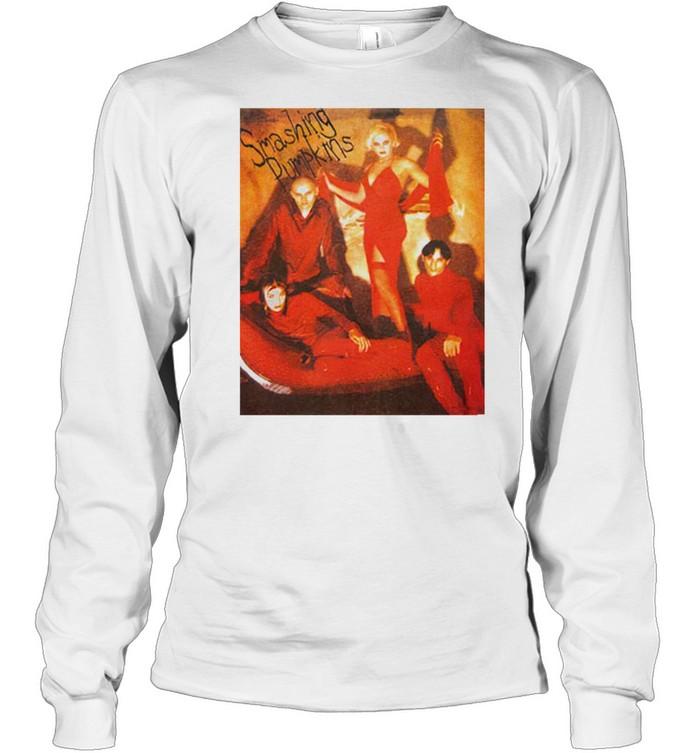 1996 Smashing Pumpkins Infinite Sadness Tour shirt Long Sleeved T-shirt