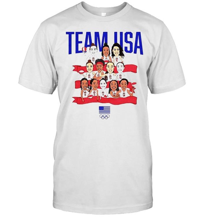 Team USA WBB Gold in Tokyo shirt Classic Men's T-shirt