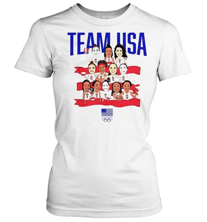 Team USA WBB Gold in Tokyo shirt Classic Women's T-shirt