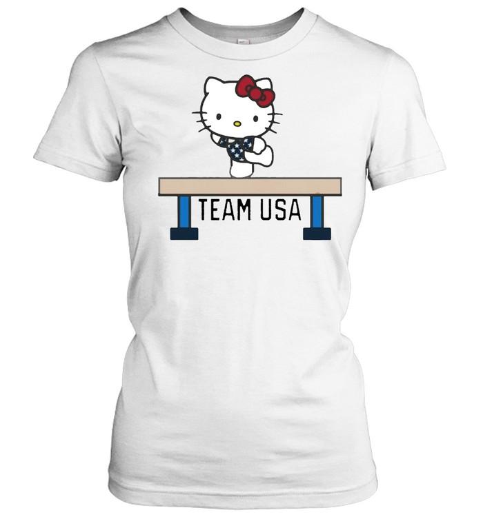 Team USA x Hello Kitty Gymnastics shirt Classic Women's T-shirt