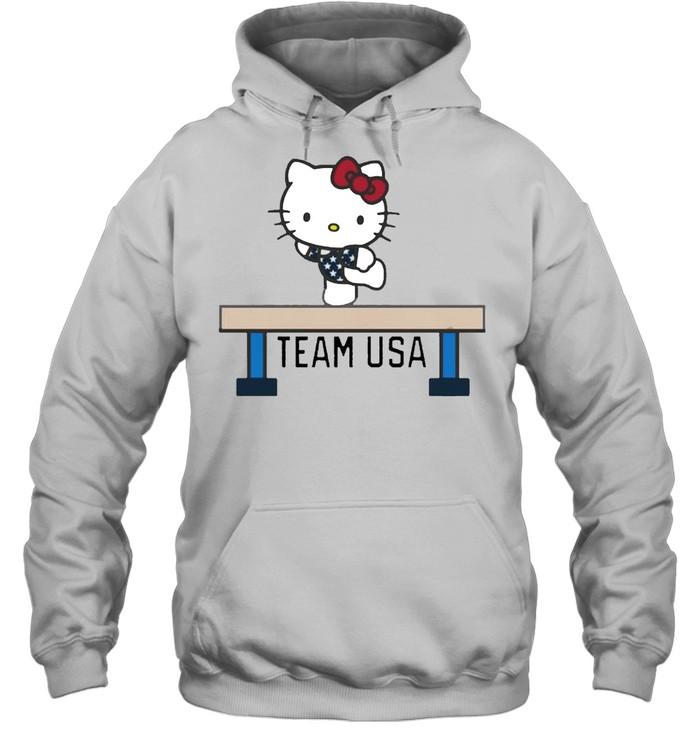 Team USA x Hello Kitty Gymnastics shirt Unisex Hoodie