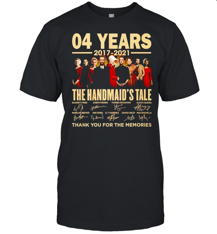 04 years 2017 2021 The Handmaid's Tale thank you for the memories shirt Classic Men's T-shirt
