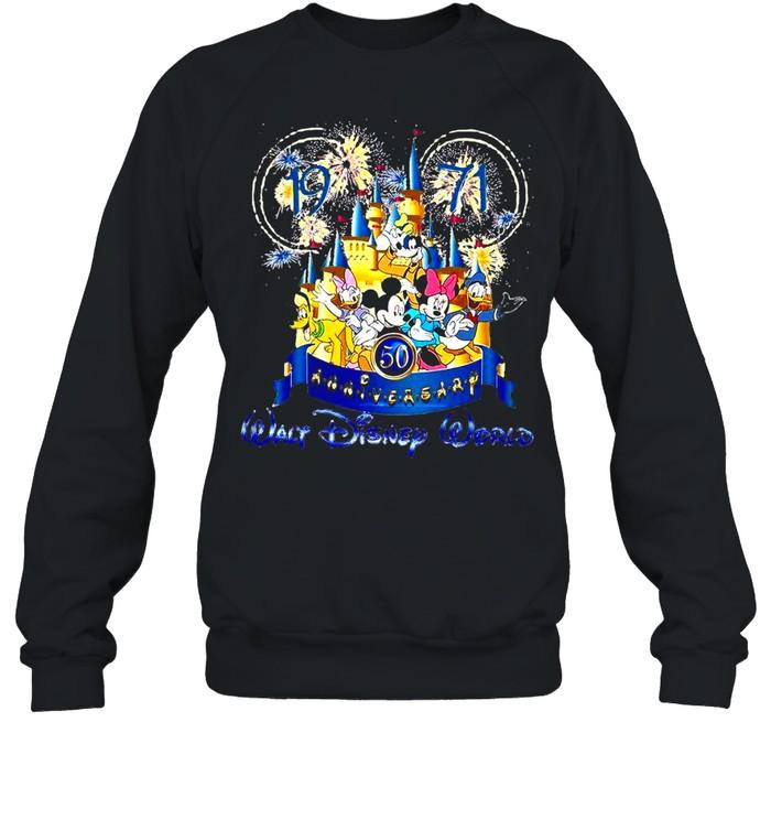 19 71 50th Anniversary Walt Disney World T-shirt Unisex Sweatshirt