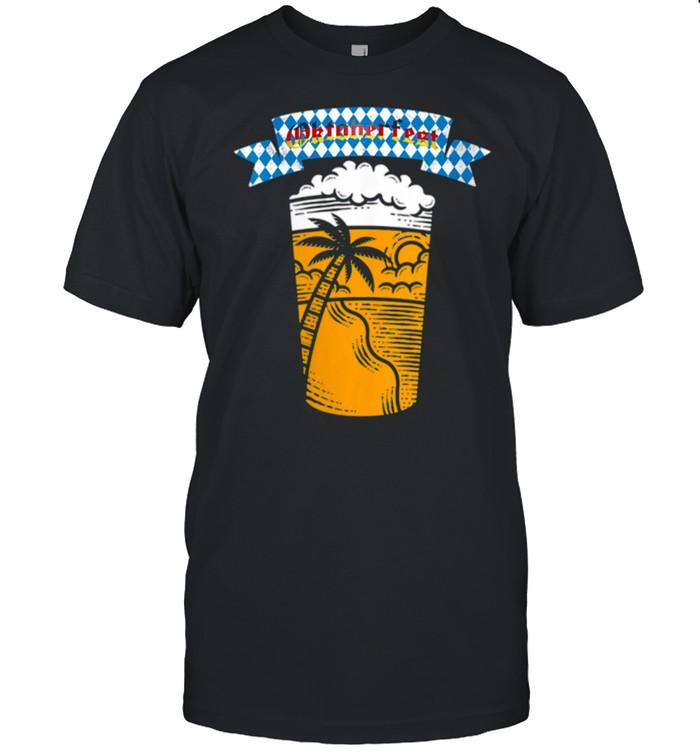 Womens Oktoberfest Party shirt Classic Men's T-shirt