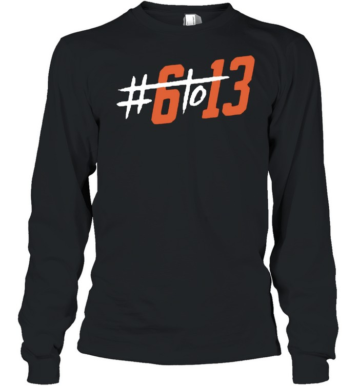 #6to13 Cleveland Football T- Long Sleeved T-shirt