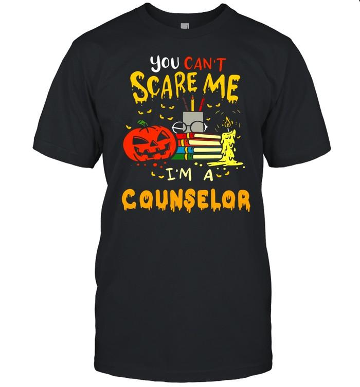 You Can't Scare Me I'm A Counselor Teacher Halloween T-shirt Classic Men's T-shirt