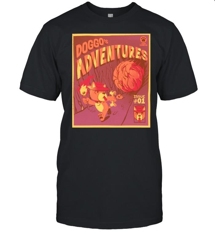 Doggo's Adventures shirt Classic Men's T-shirt