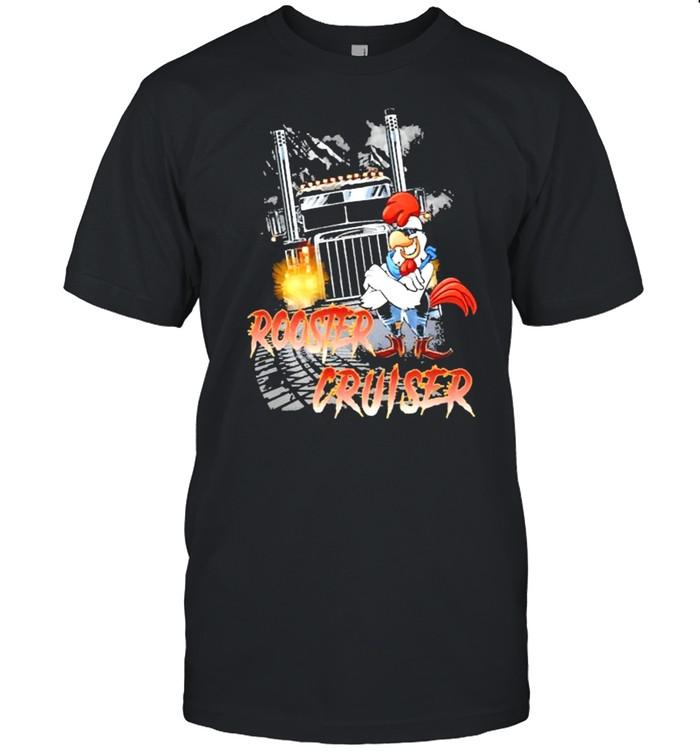 Rooster Cruiser Truck shirt Classic Men's T-shirt