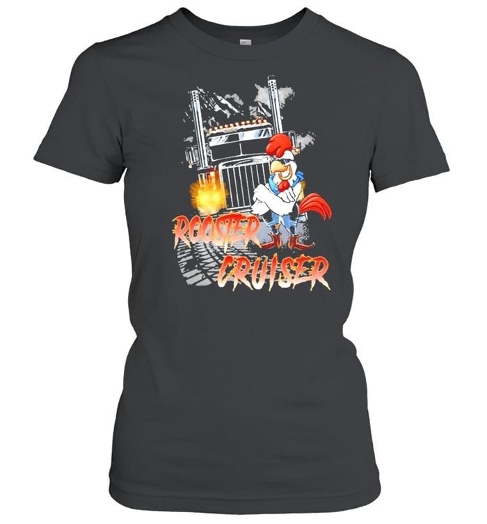 Rooster Cruiser Truck shirt Classic Women's T-shirt