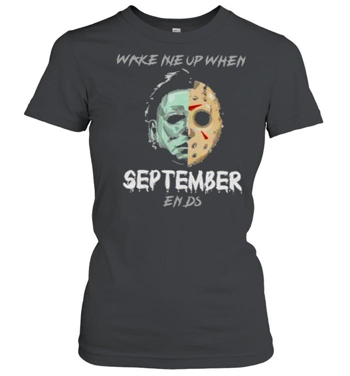 Horror Character Mirror Water Halloween t Classic Women's T-shirt