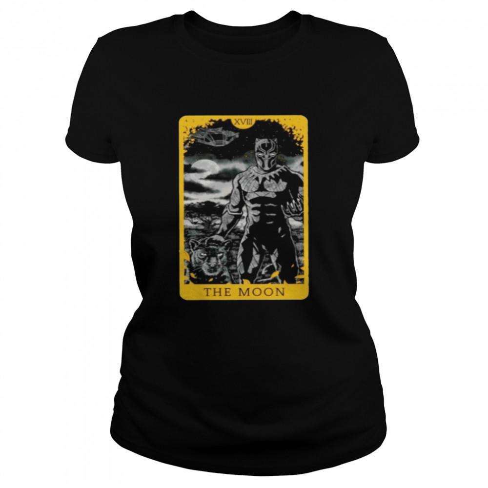 Black Panther the moon shirt Classic Women's T-shirt