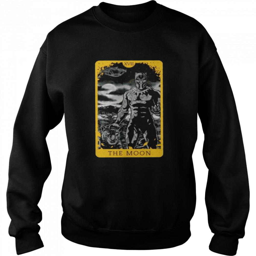 Black Panther the moon shirt Unisex Sweatshirt