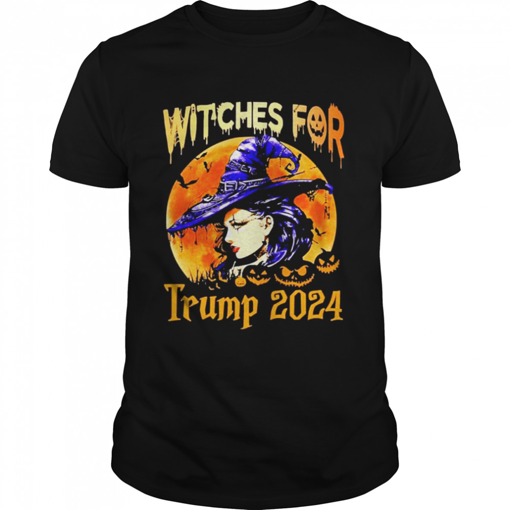 witches for Trump 2024 Halloween shirt