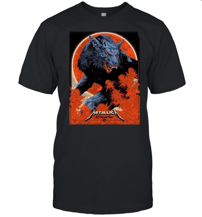 Metallica Ken Taylor Of Wolf And Man shirt