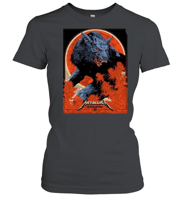 Metallica Ken Taylor Of Wolf And Man shirt Classic Women's T-shirt