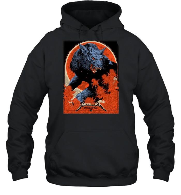 Metallica Ken Taylor Of Wolf And Man shirt Unisex Hoodie