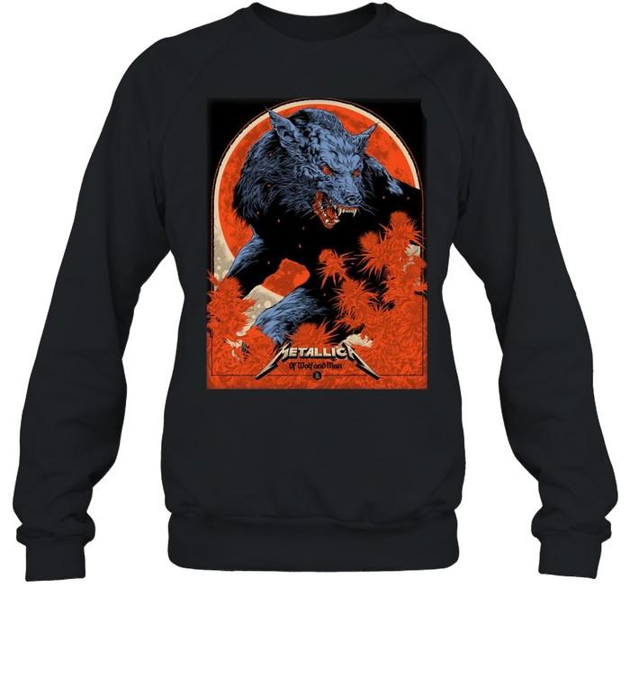 Metallica Ken Taylor Of Wolf And Man shirt Unisex Sweatshirt